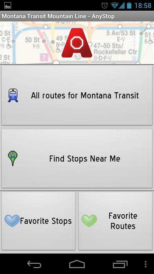 Mountain Line Missoula AnyStop - screenshot