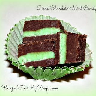 Dark Chocolate Mint Candy