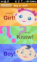 Screenshot of Baby Gender