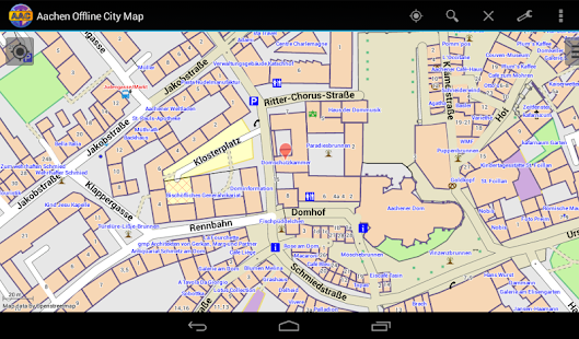 Aachen Offline City Map Android Apps on Google Play