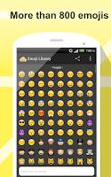Screenshot of Emoji Library