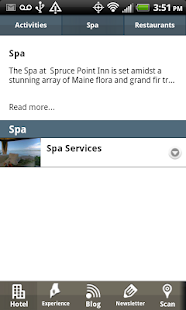 Spruce Point Inn - screenshot thumbnail
