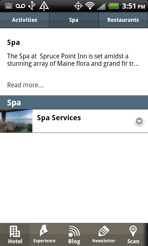 Spruce Point Inn- screenshot