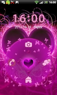 GO Locker Themes Hearts - screenshot thumbnail