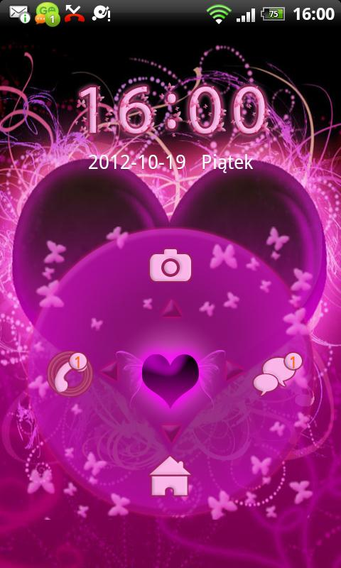 GO Locker Themes Hearts - screenshot