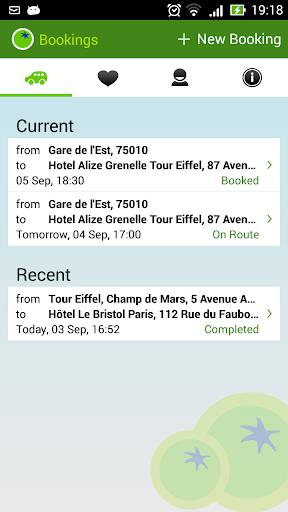 【免費交通運輸App】greentomatocars Paris-APP點子