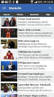 Mackolik Canlı Sonuçlar - screenshot thumbnail
