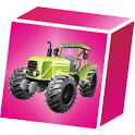 3D Block Cubes: Tractor Series icon