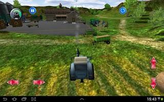 Screenshot of Tractor More Farm Driving 2015