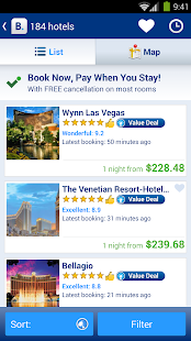 Booking.com Hotel Reservations - screenshot thumbnail