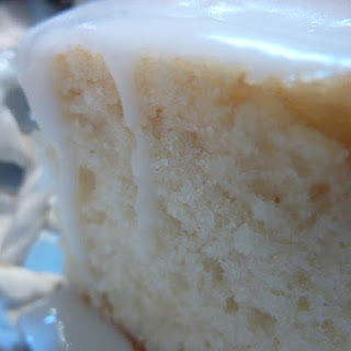 Buttermilk White Cake.