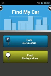 Find My Car: miniatura de captura de pantalla