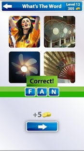 4 Pics 1 Word - screenshot thumbnail