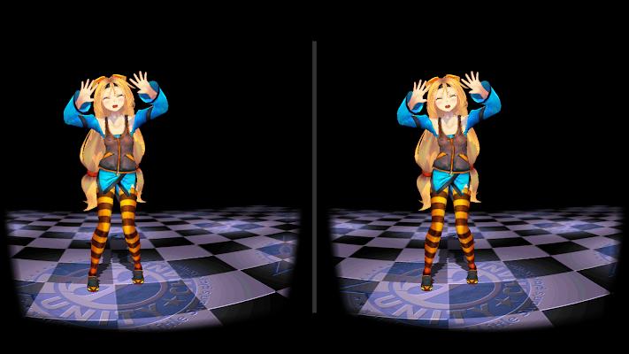 ユニティちゃんVR Cardboard - screenshot