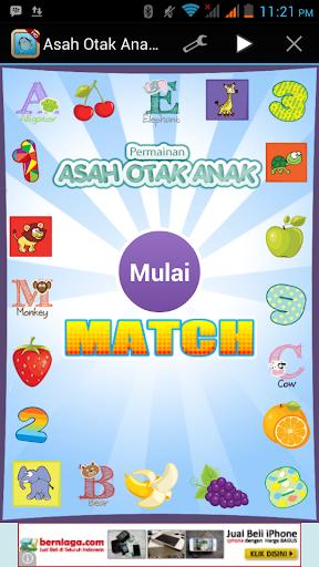 Asah Otak Anak: Match