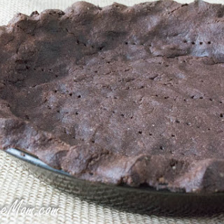 Low Carb Nut Free Grain Free Chocolate Pie Crust