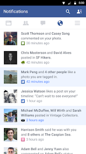 Facebook – Miniaturansicht des Screenshots
