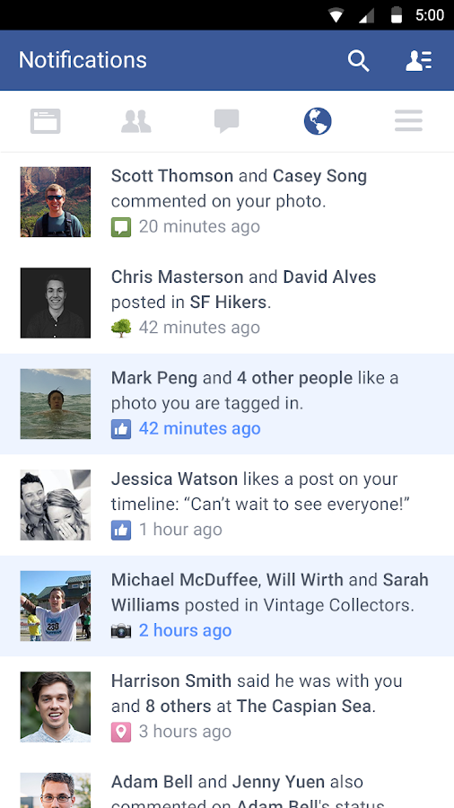 Facebook – Screenshot