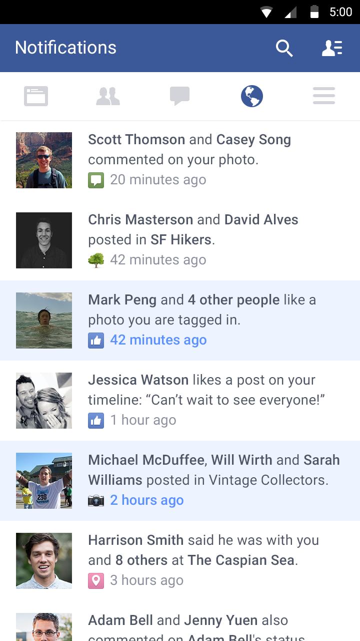 Facebook screenshot #4