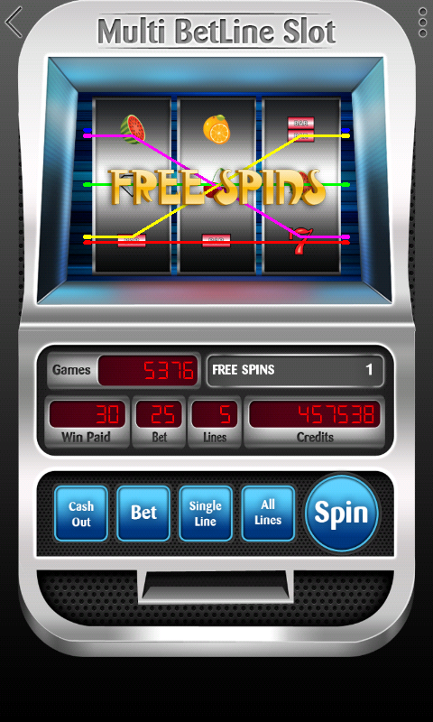 Slot Machine - Multi BetLine - screenshot