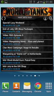 WoT Widget - screenshot thumbnail