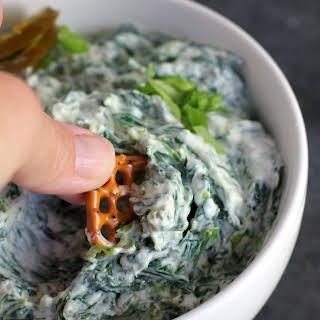 Skinny Spinach Jalapeno Dip.
