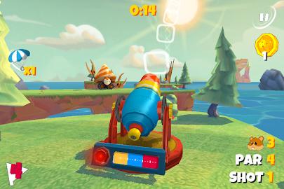 Boom Boom Hamster Golf Screenshot 1