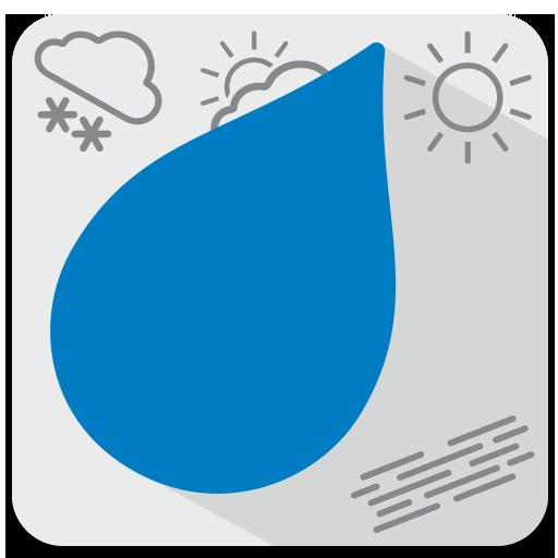 Android aplikacija Dež - Radarska slika padavin