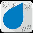 Dež - Slovenian rain radar icon