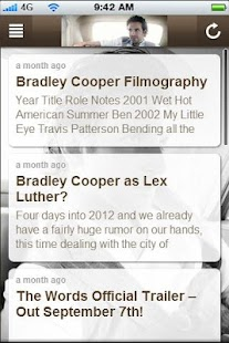 Bradley Cooper Fan App - screenshot thumbnail