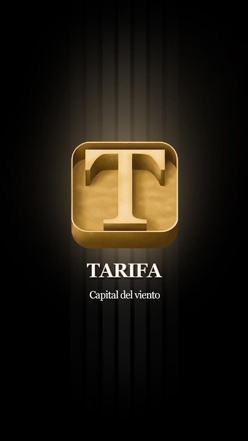 Tarifa app - screenshot
