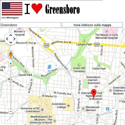 Greensboro maps