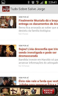 Salve Jorge Soap Opera - screenshot thumbnail