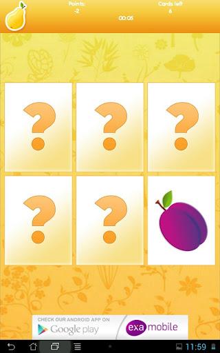 玩免費醫療APP|下載Memory Fruits: ćwicz pamięć app不用錢|硬是要APP
