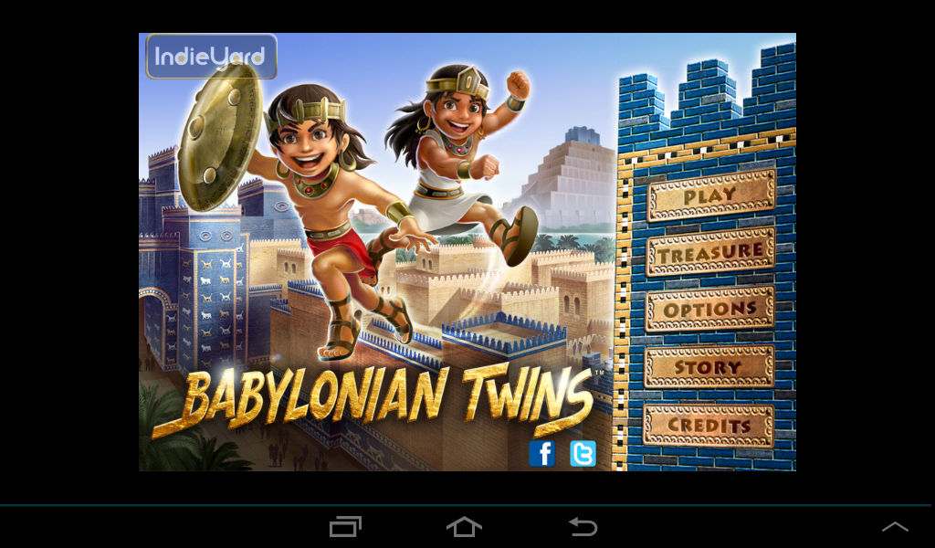 Babylonian Twins Platformer +- screenshot