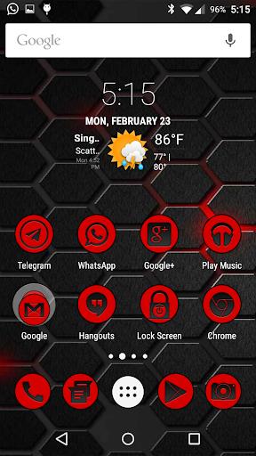 CirculoRojo Icons CM Launchers