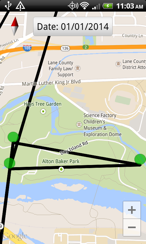 how to delete google location history via website
