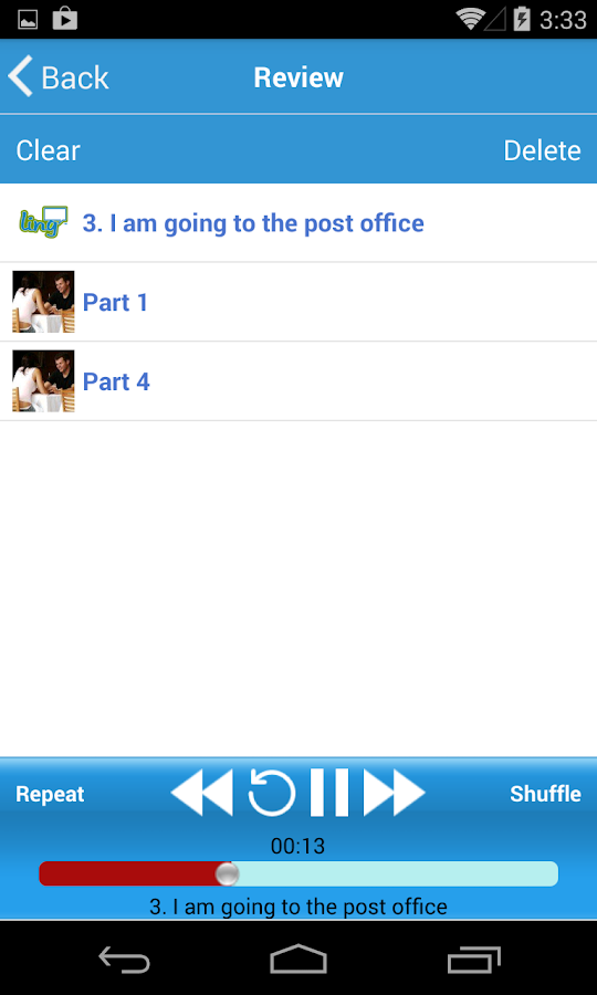 LingQ - Learn a Language - screenshot