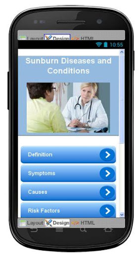 Sunburn Disease Symptoms