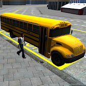 Download Full Schoolbus Driving 3D Simulator  APK
