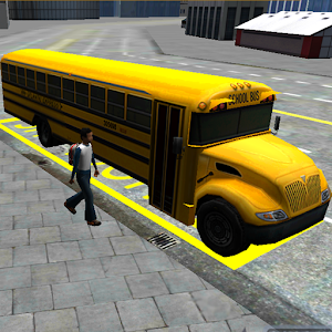 Schoolbus Driving 3D Simulator for PC and MAC