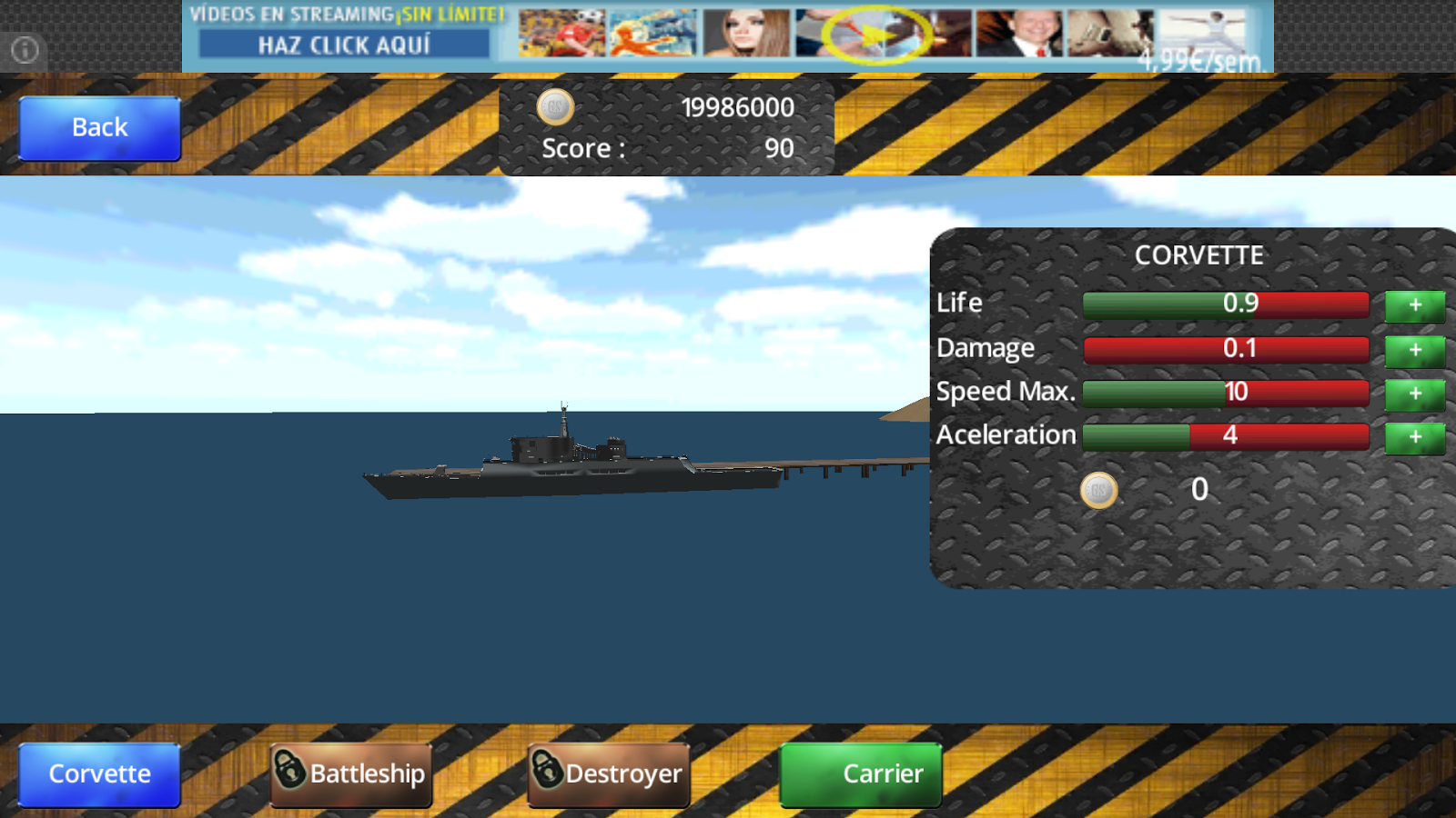 GameShips - Battle Ships- screenshot