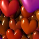 Hearts 3D Free Live Wallpaper logo