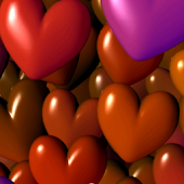 Hearts 3D Free Live Wallpaper