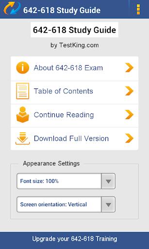 CCNP 642-618 Study Guide Demo