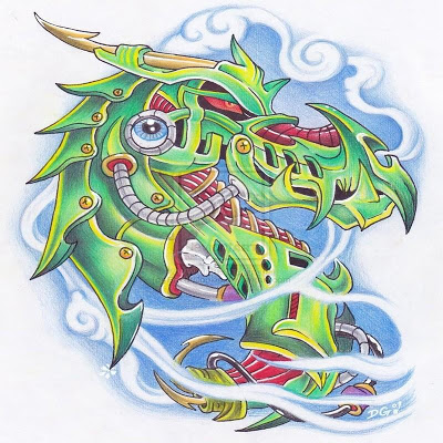 Tattoo Design Dragon - screenshot