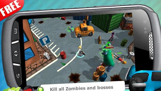 玩免費動作APP|下載殭屍防恐怖隊3D app不用錢|硬是要APP