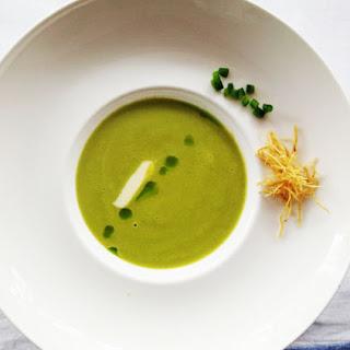 Sopa de Chile Poblano (Poblano Chile Soup)