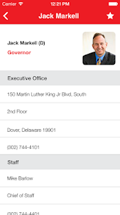 Delaware Government Directory- screenshot thumbnail