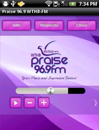Praise 96.9 WTHB-FM